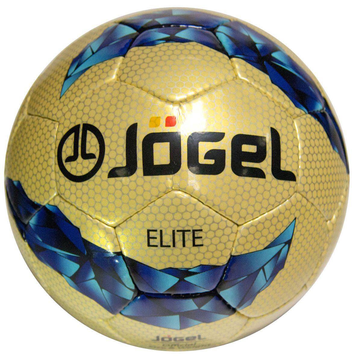Мяч футбольный Jogel Elite, цвет: золотистый, фиолетовый, голубой, черный. Размер 5. JS-800УТ-00009478Название: Мяч футбольный Jgel JS-800 Elite №5 Категория: Матчевый мяч Коллекция: 2016/2017 Описание: Jogel JS-800 Elite замечательный мяч ручной сшивки матчевого уровня, обладающий отличными игровыми и аэродинамическими характеристиками, благодаря высококачественным материалам, используемым при его изготовлении. Данный мяч рекомендован для тренировок и игр клубов среднего уровня, а также профессиональных команд. Поверхность мяча выполнена из глянцевой синтетической кожи (полиуретан) толщиной 1,5 мм с внутренним двухтонным рисунком. Мяч имеет 4 подкладочных слоя на нетканой основе (смесь хлопка с полиэстером) и оснащен латексной камерой с бутиловым ниппелем, обеспечивающим долгое сохранение воздуха в камере. Уникальной особенностью бренда Jogel является традиционная конструкция мячей из 30 панелей. Привлекательный дизайн Коллекции 2016/2017 ярко выделяет мячи Jogel на витрине. Данный мяч подходит для поставок на гос. тендеры. При производстве мячей Jogel не используется детский труд....
