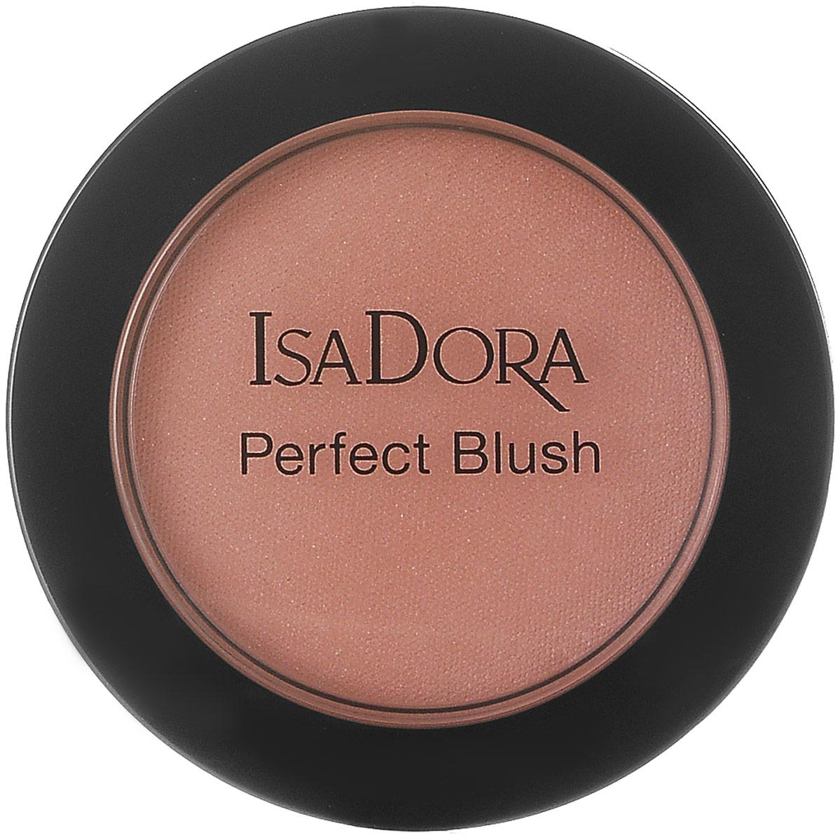 Isadora румяна Perfect blush 66 4,5гр214066Нежные бархатистые румяна, устойчивые, насыщенная пигментами текстура, матовые и сияющие оттенки. Без отдушек. Клинически тестировано.