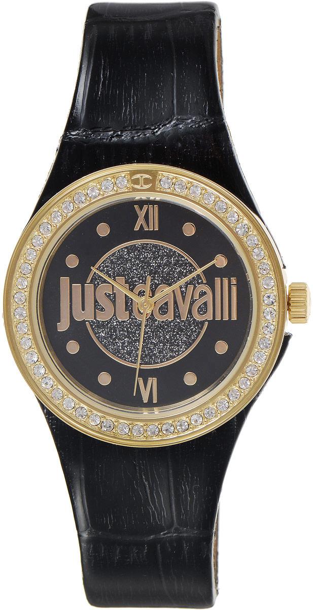 Наручные часы женские Just Cavalli Just Shade, цвет: черный. R7251201501R7251201501Стильные женские часы Just Cavalli изготовлены из нержавеющей стали. Кожаный ремешок оснащен классической застежкой-пряжкой. Точный кварцевый механизм имеет степень влагозащиты равную 3 Bar и дополнен часовой, минутной и секундной стрелками. Корпус украшен кристаллами. Для того чтобы защитить циферблат от повреждений в часах используется высокопрочное минеральное стекло. Изделие упаковано в фирменную коробку. Часы Just Cavalli отличаются современным уникальным дизайном, идеальными пропорциями в сочетании с прекрасными материалами и техническими характеристиками.