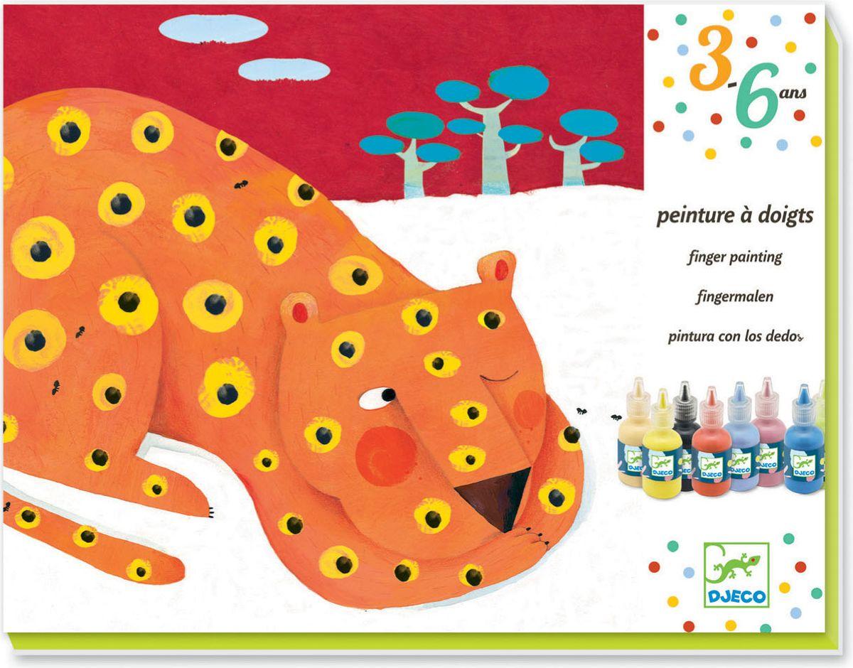 Djeco Краски пальчиковые Композиция08901Маленькие художники будут в восторге от пальчиковых красок. И мама не будет ругаться, что малыш испачкался в краске. Пальчиковые краски абсолютно безопасны для детей, способствует развитию мелкой моторики малышей. В набор входят краски и картинки, с помощью которых ребенок может создать свои первые художественные шедевры. Комплект: 8 картинок для рисования (420 x 270 мм), 8 бутылочек с краской (30 мл), цветная пошаговая инструкция.