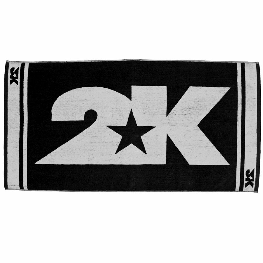 Полотенце 2K Sport Barri, цвет: черный, белый, 60 х 120 смa026124Мягкое полотенце 2K Sport Barri незаменимо для спортсменов и людей, ведущих активный образ жизни. Им можно вытираться после тренировок, соревнований, пробежек. Полотенце выполнено из высококачественного хлопка. Оно прочное и отлично впитывает влагу.