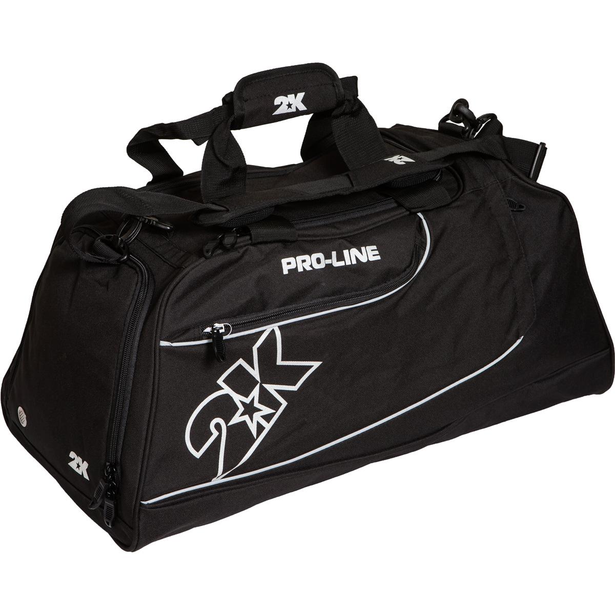 Сумка спортивная 2K Sport Manado, цвет: черный. 128121128121-blackМожно переносить на руке и на плече. Размер: 60х30х33 см. (ДхШхВ). Отстегивающийся ремень.