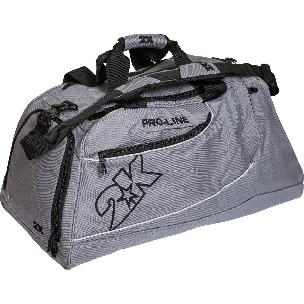 Сумка спортивная 2K Sport Manado, цвет: серый. 128121128121-greyМожно переносить на руке и на плече. Размер: 60х30х33 см. (ДхШхВ). Отстегивающийся ремень.
