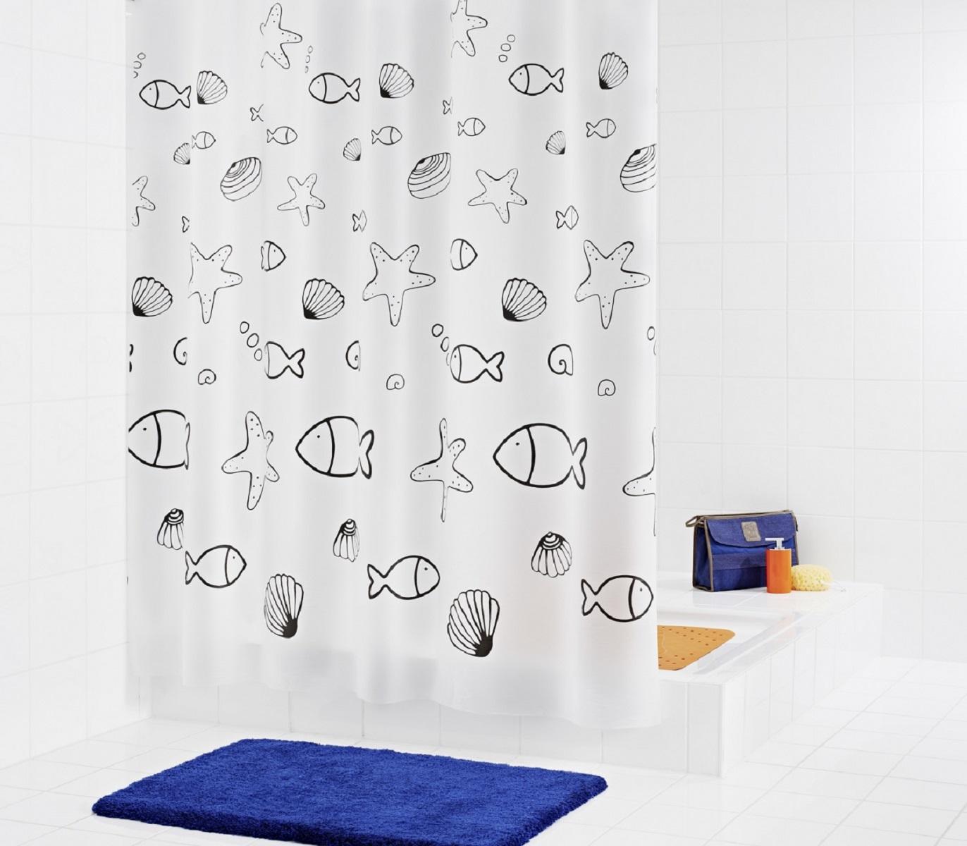 Штора для ванной комнаты Ridder Seashell, 180 х 200 см32630Высококачественная немецкая штора для душа создает прекрасное настроение. Продукты из эколена не имеют запаха и считаются экологически чистыми. Ручная стирка. Не гладить.