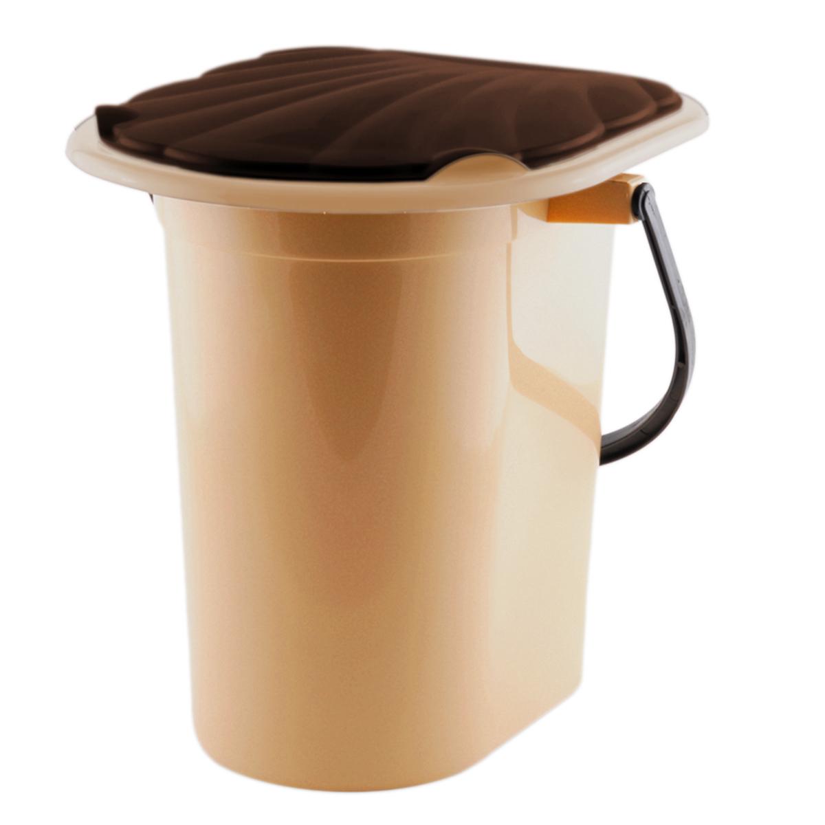 Ведро-туалет InGreen, цвет: бежевый, коричневый, 18 лING40000БЖВедро-туалет InGreen выполнено из пластика. Это незаменимая вещь на даче, а также для пожилых людей и людей с ограниченными возможностями. Устойчивое и высокое ведро удобно в использовании. Ведро-туалет имеет эргономичное съемное сиденье - это позволит легко его мыть и сушить отдельно. Ведро снабжено крышкой, что препятствует распространению неприятных запахов. Прочный пластик выдержит даже людей с большим весом..