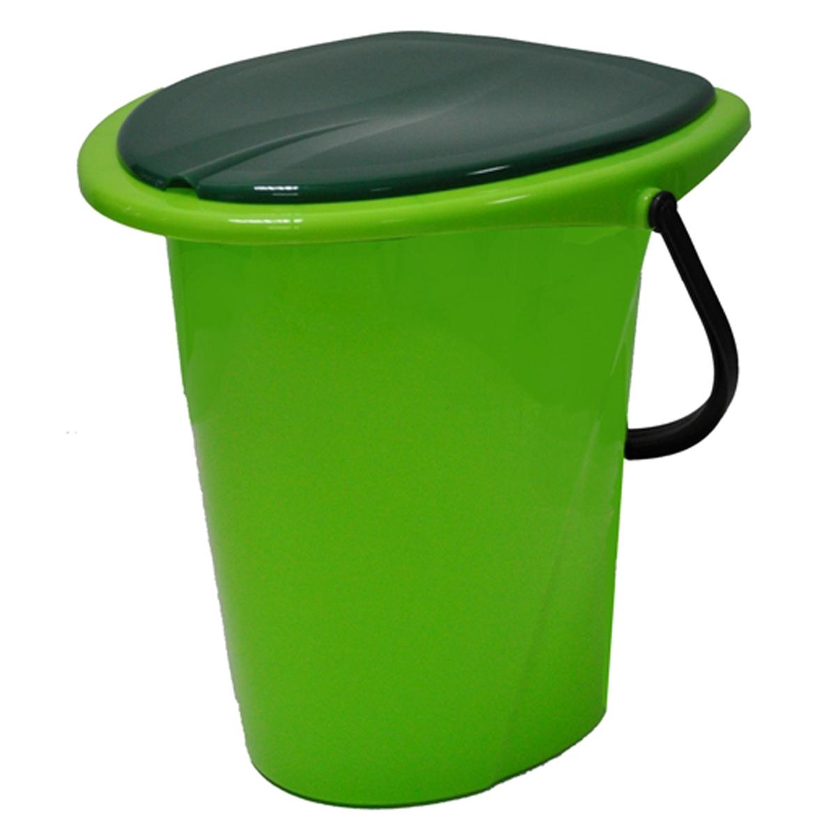 "Ведро-туалет ""InGreen"", цвет: зеленый, салатовый, 17 л ING30001СЛ-7РS"
