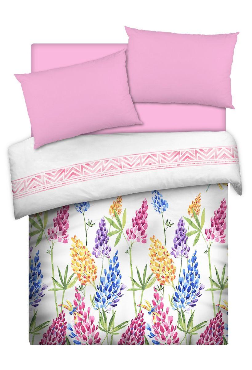 Комплект белья Carte Blanche Lupinus, 1,5-спальный, наволочки 50x70. 335911335911