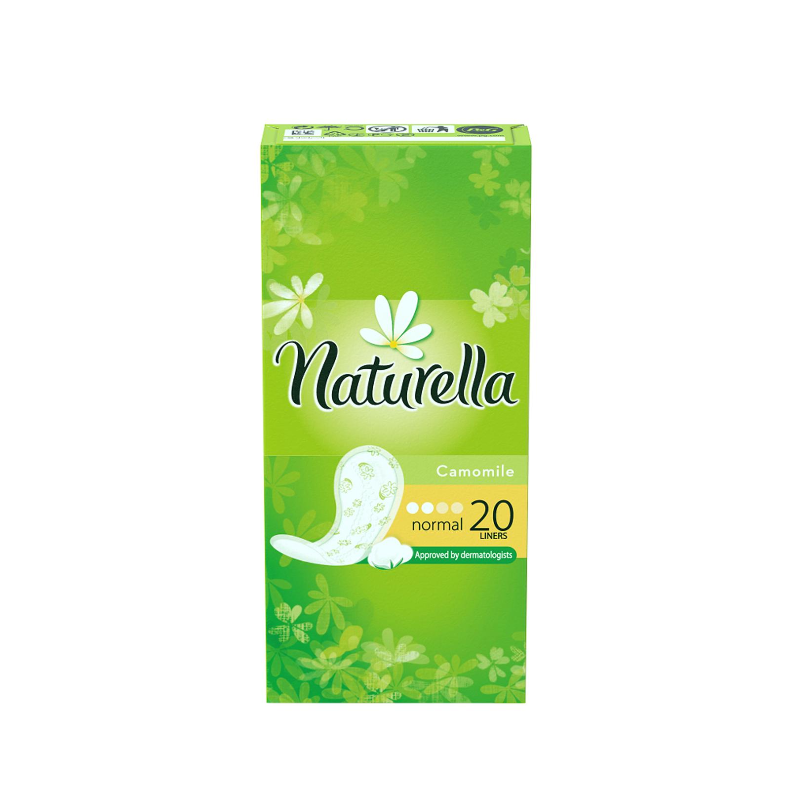 Naturella Женские гигиенические прокладки на каждый день Camomile Normal Single 20штSatin Hair 7 BR730MNСохрани свежесть в течение всего дня с ежедневными прокладками Naturella Normal. Эти воздухопроницаемые ежедневные прокладки толщиной 0,9 мм с мягким, как лепесток, верхним слоем и легким ароматом, вдохновленным самой природой, обеспечивают свежесть и комфорт каждый день.Одобренные дерматологическим институтом proDERM ежедневные прокладки Naturella каждый день обеспечивают заботу о женской гигиене, которой можно доверять.Одобренные дерматологическим институтом proDERM ежедневные прокладки Naturella каждый день обеспечивают заботу о женской гигиене, которой можно доверять.Ежедневные прокладки Naturella отлично защищают нижнее белье при выделениях из влагалища, нерегулярном цикле и выделениях перед менструацией. Во время менструации обязательно воспользуйтесь прокладками Naturella для усиленной защиты. Супермягкий верхний слой обеспечивает дополнительный комфорт в интимной зонеВоздухопроницаемые и тонкие как лепесток (0,9 мм)Дышащий верхний слой и легкий аромат ромашки для ежедневной свежестиОдобрено дерматологами всемирно известного немецкого института proDERM и гарантируют женщинам надежную защиту, которой можно доверять