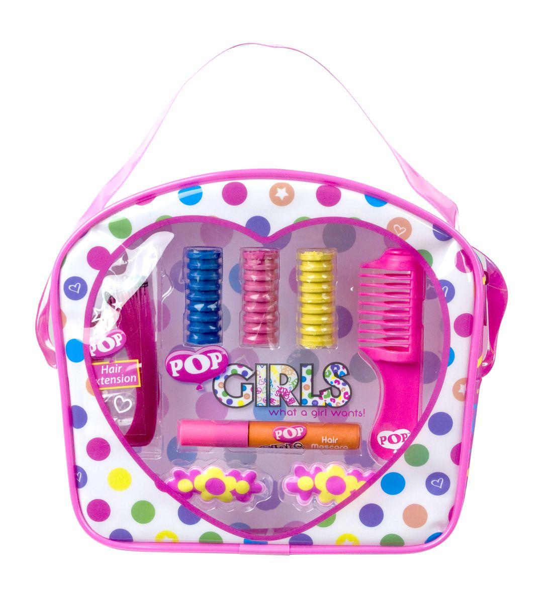 Markwins Игровой набор детской декоративной косметики для волос Pop Girl1301210Набор детской косметики для окрашивания волос Markwins Pop Girl поможет создать яркий образ! При этом краска легко смывается обычной водой, не содержит вредных веществ, не портит волосы. В набор входит флакончик с краской для волос и специальные мелки, которыми можно легко покрасить отдельные пряди. Искусственная прядь придаст дополнительную изюминку. Детская краска для волос прекрасно подойдет для создания образа перед маскарадом, праздником или выступлением.Детская косметика Markwins создана с соблюдением самых высоких европейских стандартов безопасности. Продукция не содержит парабенов, метилизотиазолинона, пальмового масла. Предназначена для детей от 7 лет. Несмотря на высокое качество продукции и ее общую гипоаллергенность, производитель рекомендует проверить индивидуальную реакцию на косметику перед ее использованием. Просто нанесите на кожу немного косметики и подержите 30-60 минут. Если на коже появится покраснение, следует прекратить использование продукции. Эта аллергическая реакция проявляется очень редко и зависит от индивидуальных особенностей организма.Условия хранения: хранить при температуре от +5 до +25 градусов; не допускать попадания прямых солнечных лучей.