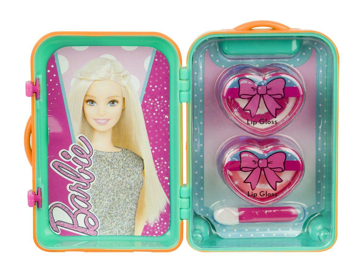 Markwins Игровой набор детской декоративной косметики Barbie 96002519600251С набором декоративной косметики Markwins девочка сможет создать себе яркий, неповторимый образ! Блеск совершенно безопасен для детской кожи, легко наносится и смывается. В набор входят два блеска для губ и удобный аппликатор для их нанесения. Детская косметика Markwins создана с соблюдением самых высоких европейских стандартов безопасности. Продукция не содержит парабенов, метилизотиазолинона, пальмового масла. Предназначена для детей от 7 лет. Несмотря на высокое качество продукции и ее общую гипоаллергенность, производитель рекомендует проверить индивидуальную реакцию на косметику перед ее использованием. Просто нанесите на кожу немного косметики и подержите 30-60 минут. Если на коже появится покраснение, следует прекратить использование продукции. Эта аллергическая реакция проявляется очень редко и зависит от индивидуальных особенностей организма. Условия хранения: хранить при температуре от +5 до +25 градусов; не допускать попадания прямых солнечных лучей.