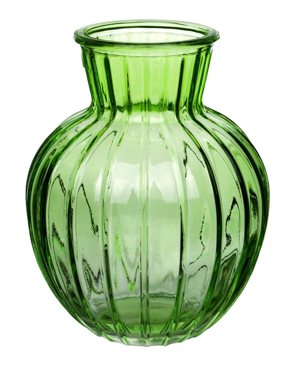 Ваза Nina Glass Белла, цвет: зеленый, высота 19,5 смNG92-001M_зеленыйВаза Nina Glass Белла выполнена из высококачественного стекла и имеет изысканный внешний вид. Такая ваза станет ярким украшением интерьера и прекрасным подарком к любому случаю. Не рекомендуется мыть в посудомоечной машине. Высота вазы: 19,5 см.