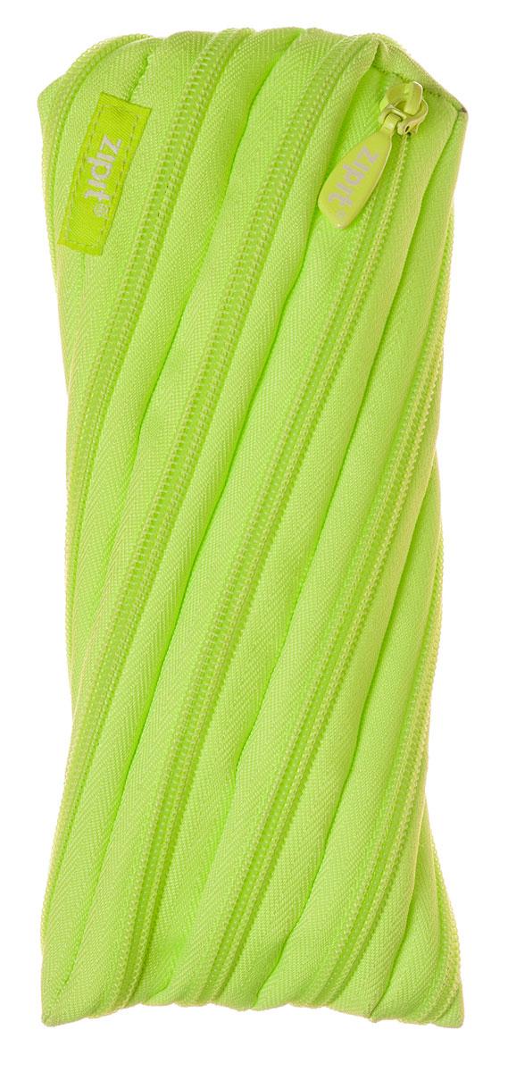 Zipit Пенал Neon Pouch цвет лайм37493Оригинальный пенал Zipit Neon Pouch изготовлен из одной длинной застежки-молнии. Он удобен для разных мелочей и пишущих принадлежностей.