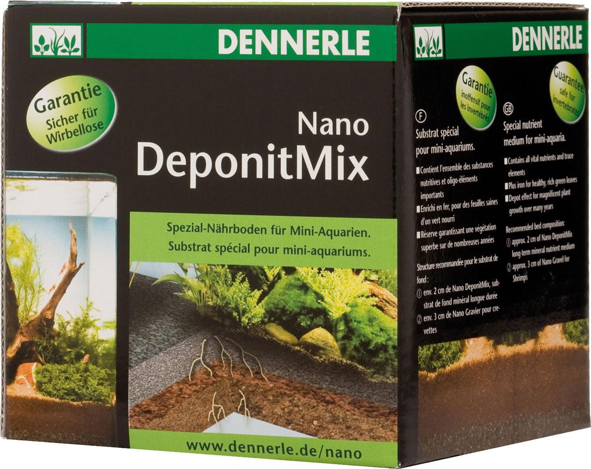 Подкормка грунтовая Dennerle Nano Deponit Mix, для мини-аквариумов, готовая смесь, 1 кгDEN5912Грунтовая подкормка Dennerle Nano Deponit Mix является фундаментом для пышного роста растений. Он обеспечивает растения необходимыми питательными веществами, усваиваемыми корневой системой гидрофлоры. Dennerle Nano Deponit Mix разработан специально для миниатюрных аквариумов. Его насыпают самым нижним слоем толщиной около 2 см. Он содержит все жизненно важные питательные вещества и микроэлементы, а также содержит железо для сочных зелёных здоровых листьев. Действует на протяжении многих лет, обеспечивая пышный рост растений. Гарантированно безопасен для беспозвоночных.