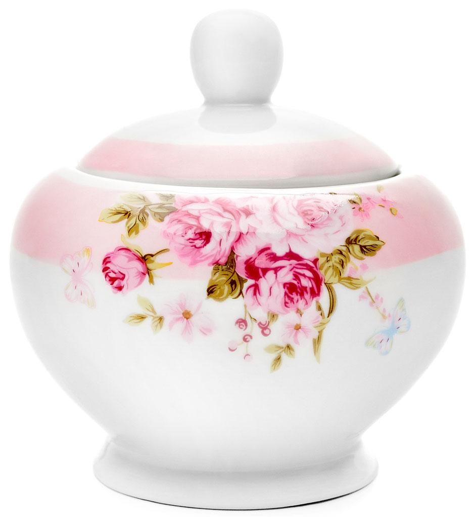 Сахарница Walmer Mirabella, цвет: розовый, 300 млW19850000Великолепная сахарница Walmer Mirabella выполнена из высококачественного фарфора и оснащена крышкой. Лаконичность и изящество форм придают сахарнице неповторимую изысканность. Эксклюзивный дизайн, эстетичность и функциональность сахарницы делает ее незаменимой на любой кухне. Высота сахарницы (без учета крышки): 10,5 см. Объем сахарницы: 300 мл.