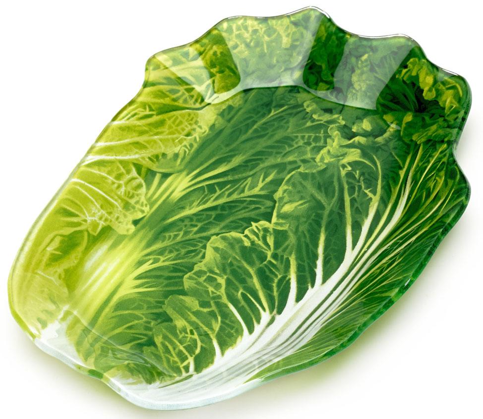 Блюдо сервировочное Walmer Greenery, 13x18 см. W22061318W22061318