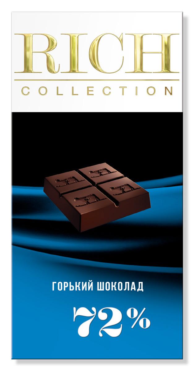 Rich Шоколад горький, 70 г14.2724Для ценителей горького шоколада был создан шоколад с высоким содержанием какао на основе отборных бобов сорта Criollo.