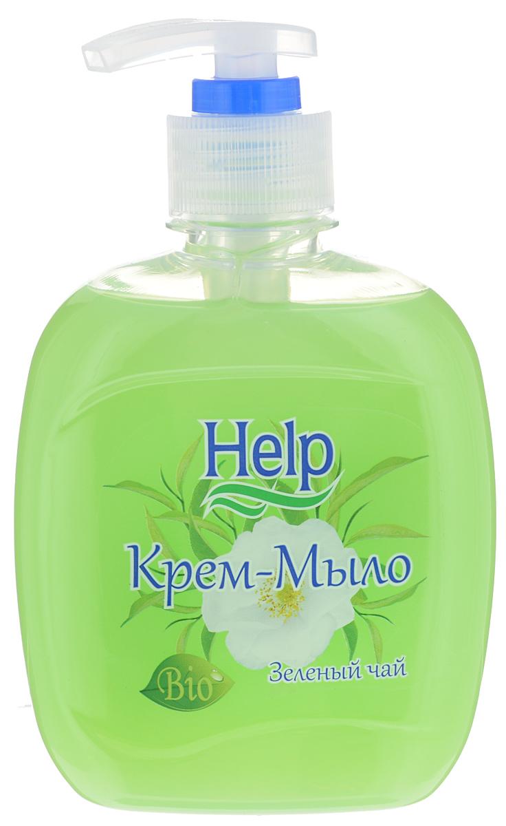 Жидкое мыло Help Зеленый чай, с дозатором, 300 г4605845001463Мыло Help Зеленый чай мягко очищает, увлажняет, придает мягкость коже рук. Специальные компоненты дополнительно питают кожу рук во время мытья. Мыло обладает гипоаллергенной парфюмерной композицией с ярким ароматом и пышной пеной. Товар сертифицирован.