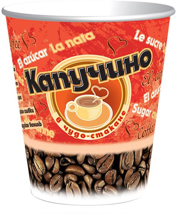 Чудо-Стакан Капучино Ванильный кофейный напиток, 10 стаканов по 24 г КС