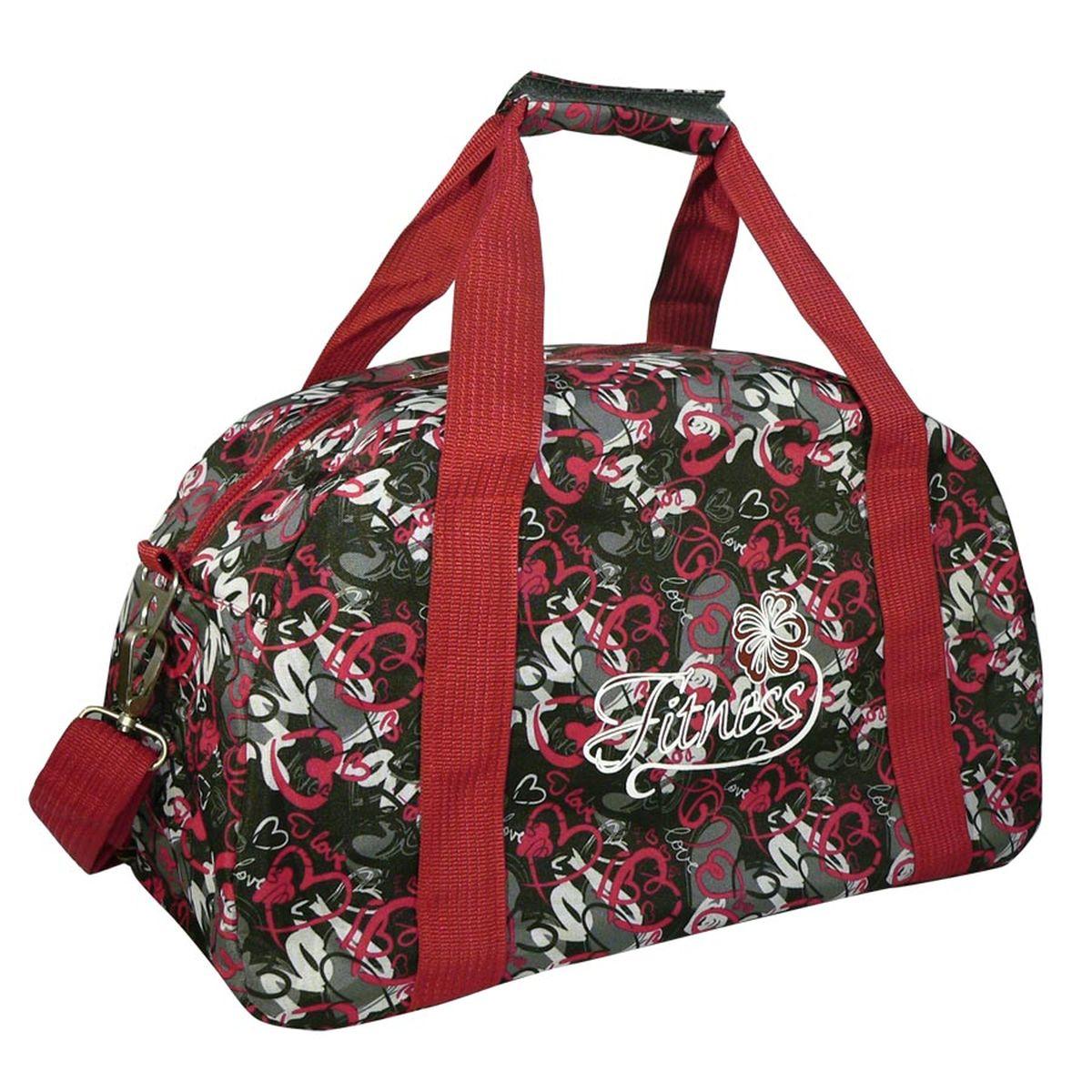 Сумка спортивная Polar, цвет: серый, красный, 20 л. 59975997_серый, красныйМатериал – полиэстер с водоотталкивающей пропиткой. Вместительная спортивная сумка среднего размера. Одно отделение. Карман на молнии сзади сумки. В комплект входит съемный плечевой ремень. Эта сумка идеально подойдет для спорта и отдыха. Спортивная сумка для ваших вещей.