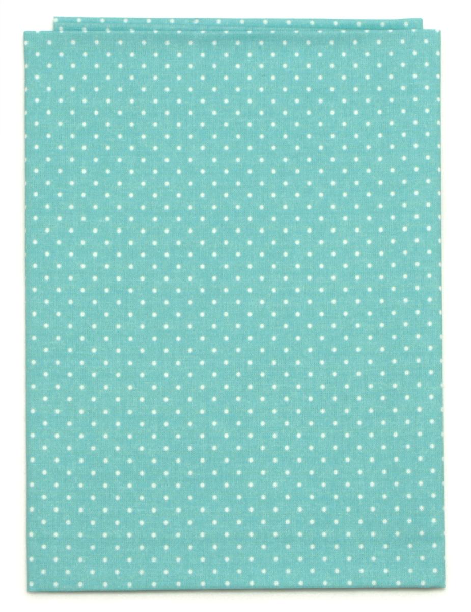 Ткань Кустарь Мелкий горошек, цвет: мятный, 48 х 50 см. AM555012AM555012Ткань Кустарь - это высококачественная ткань из 100% хлопка, которая отлично подходит для пошива покрывал, сумок, панно, одежды, кукол. Также подходит для рукоделия в стиле скрапбукинг и пэчворк. Плотность ткани: 120 г/м2. Размер: 48 х 50 см.