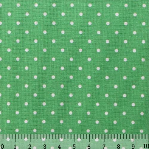 Ткань Кустарь Горошек 2 мм, цвет: светло-зеленый, 48 х 50 см. AM556007AM556007Ткань Кустарь - это высококачественная ткань из 100% хлопка, которая отлично подходит для пошива покрывал, сумок, панно, одежды, кукол. Также подходит для рукоделия в стиле скрапбукинг и пэчворк. Плотность ткани: 120 г/м2. Размер: 48 х 50 см.