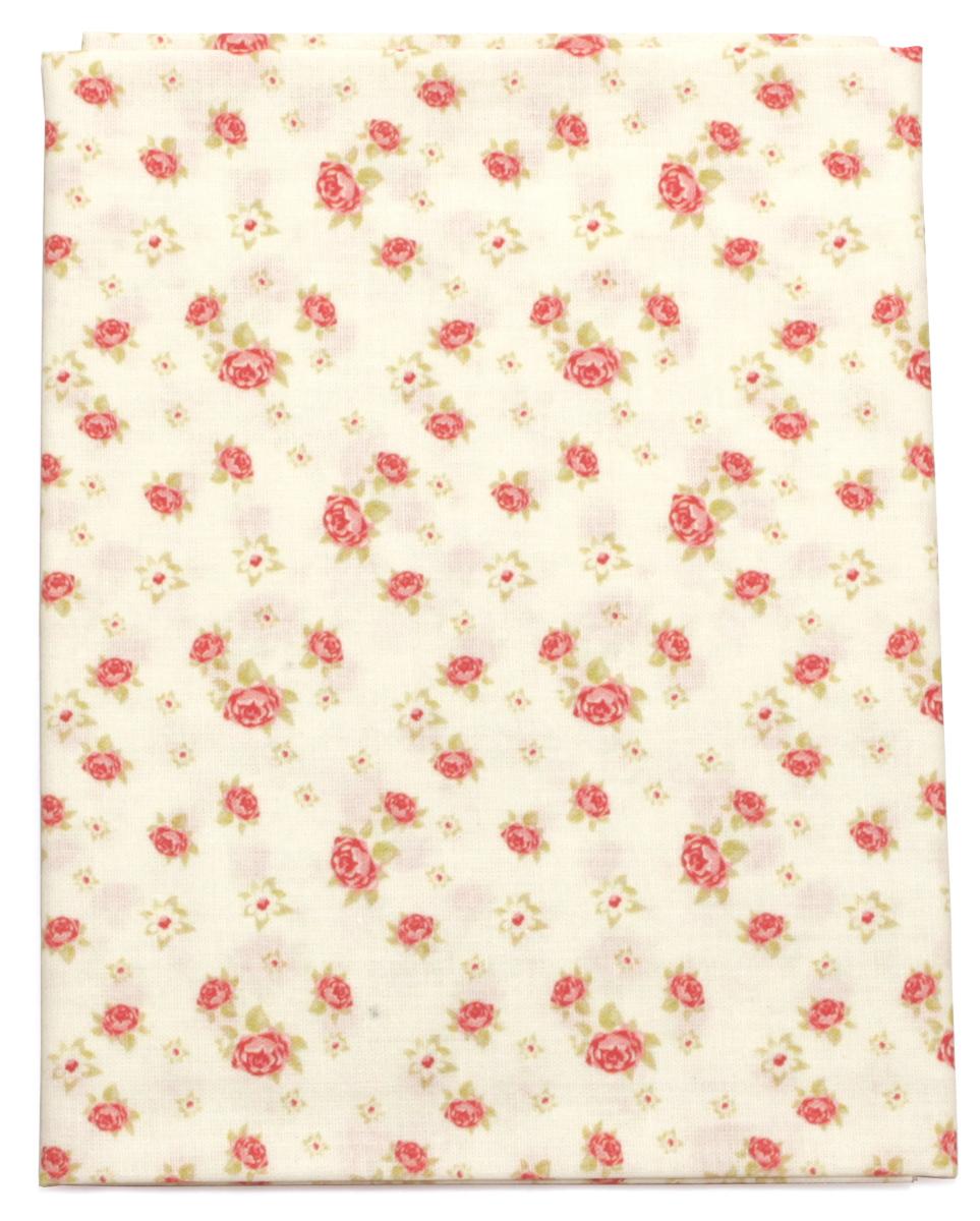 Ткань Кустарь Розы в стиле шебби шик №1, 48 х 50 см. AM586001AM586001Ткань Кустарь - это высококачественная ткань из 100% хлопка, которая отлично подходит для пошива покрывал, сумок, панно, одежды, кукол. Также подходит для рукоделия в стиле скрапбукинг и пэчворк. Плотность ткани: 120 г/м2. Размер: 48 х 50 см.