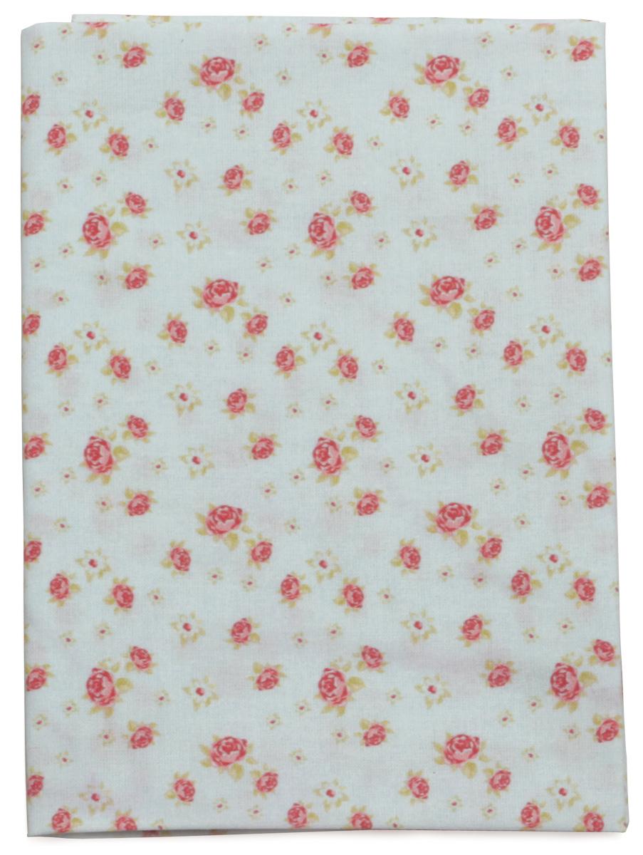 Ткань Кустарь Розы в стиле шебби шик №6, 48 х 50 см. AM586006AM586006Ткань Кустарь - это высококачественная ткань из 100% хлопка, которая отлично подходит для пошива покрывал, сумок, панно, одежды, кукол. Также подходит для рукоделия в стиле скрапбукинг и пэчворк. Плотность ткани: 120 г/м2. Размер: 48 х 50 см.