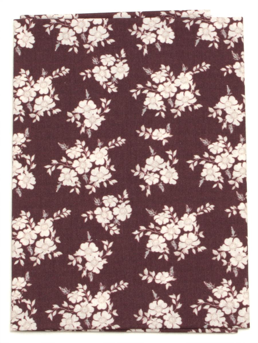 Ткань Кустарь Цветочная коллекция №8, 48 х 50 см. AM609008AM609008Ткань Кустарь - это высококачественная ткань из 100% хлопка, которая отлично подходит для пошива покрывал, сумок, панно, одежды, кукол. Также подходит для рукоделия в стиле скрапбукинг и пэчворк. Плотность ткани: 120 г/м2. Размер: 48 х 50 см.