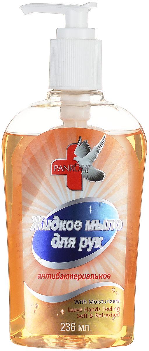 Жидкое мыло Panrosa Антибактериальное 236мл360Антибактериальное жидкое мыло Panrosa борется со всеми видами бактерий и благодаря своей нежной формуле подходит даже для самой чувствительной кожи. Кроме того, мыло насыщенно натуральными экстрактами, которые делают кожу рук мягкими и гладкими.