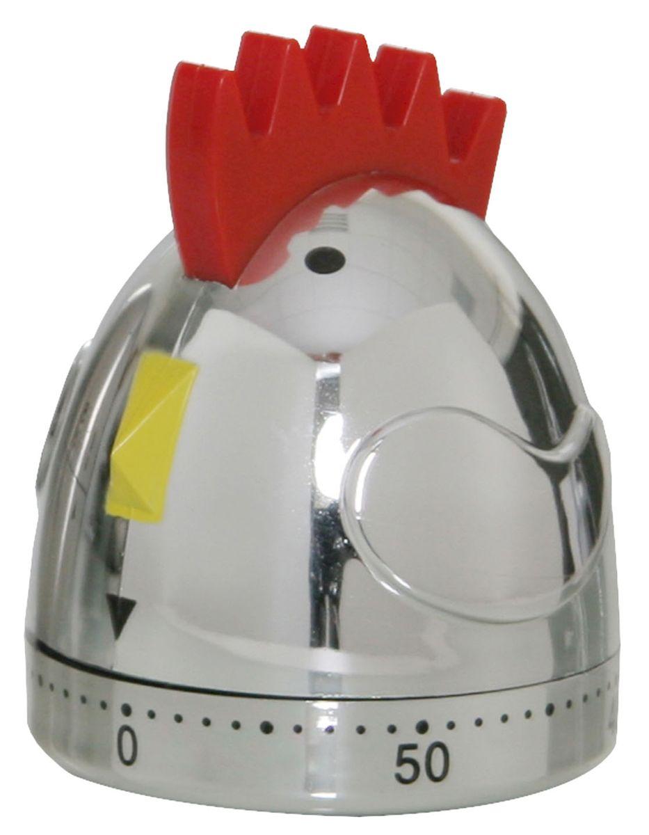 Таймер Axentia Петушка, 60 мин. 224753224753Таймер Axentia из стали хромированный, в форме петушка, отчет времени до 60 минут. Удобный и полезный аксессуар.
