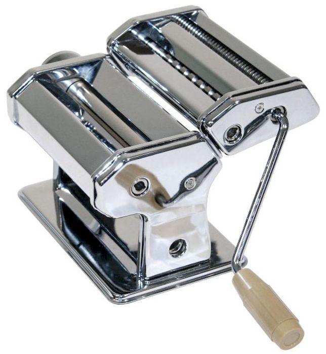 Машинка Axentia для нарезания итальянской лапши. 224773LU-1853Машина ручная Axentia для нарезания итальянской лапши - спагетти, фетучини и листов лазаньи. Ширина - 14,5 см. материал: хромированная сталь. ТРИ барабана для разных видов лапши. Крепление к столу в комплекте. Упаковка: красочная картонная коробка.