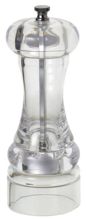 Мельница для перца и специй Axentia, высота 17 см225791Мельница для перца Axentia, изготовленная из акрила, легка в использовании. Стоит только покрутить верхнюю часть мельницы, и вы с легкостью сможете поперчить по своему вкусу любое блюдо. Механизм мельницы изготовлен из высококачественной стали. Степень помола можно регулировать. Оригинальная мельница модного дизайна будет отлично смотреться на вашей кухне. Высота: 17 см.