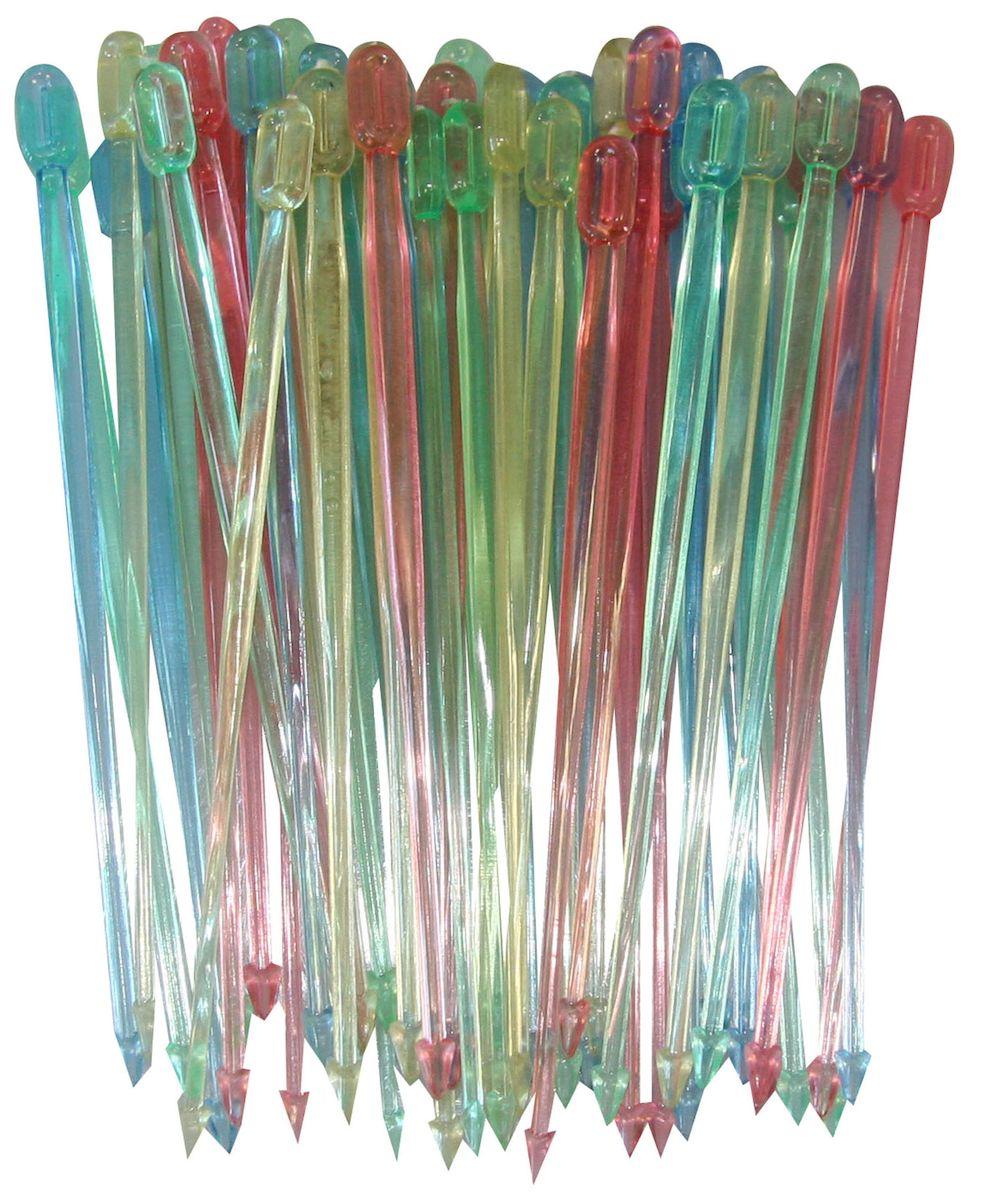 Шпажки Axentia для канапе, 50 шт291526Набор Axentia, изготовленный из пластика, состоит из 50 шпажек для канапе. Канапе созданы для утоления легкого голода на фуршетах. А еще эти крохотные бутерброды могут стать украшением всего торжества. Конечно, если и сами они оформлены должным образом. Например, украшены этими замечательными шпажками. Такой набор идеально подойдет для оформления детского канапе, или для тарелки с фруктами! Длина шпажки: 8,5 см.