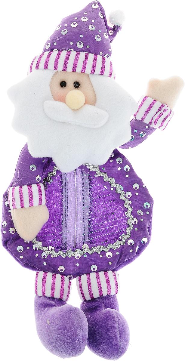 Мешок для подарков Winter Wings Новогодний, 33 х 15 смNLED-444-7W-BKМешок Winter Wings Новогодний, выполненный из полиэстера, декорирован блестками. Этот праздничный аксессуар предназначен специально для новогодних и рождественских подарков. С помощью петельки его можно подвесить в любое понравившееся место.Традиция класть подарки в новогодние чулки (в Европе эти же чулки называются рождественскими) появилась в нашей стране относительно недавно, но уже пользуется популярностью. Чулки, как и другие новогодние украшения, создают в доме атмосферу тепла и уюта, сближая всю семью. Особенно эта традиция приводит в восторг детей. Да и взрослому будет не менее интересно получить подарок в такой оригинальной упаковке.Размер изделия: 33 х 15 см.
