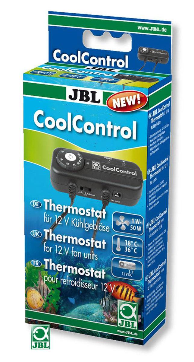 Термоконтроллер для аквариумных вентиляторов JBL CoolControl Cooler, от 18 до 36°CJBL6044500JBL CoolControl - Термоконтроллер для аквариумных вентиляторов JBL Cooler, диапазон регулировки от 18 до 36 °C