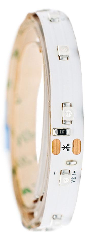 Лента светодиодная Главдор, цвет: синий, 600 ммGL-129Гибкая светодиодная лента для декоративной подсветки фиксируется с помощью двухстороннего скотча. Питание: 12В. Длина: 600 мм. Синий источник света.