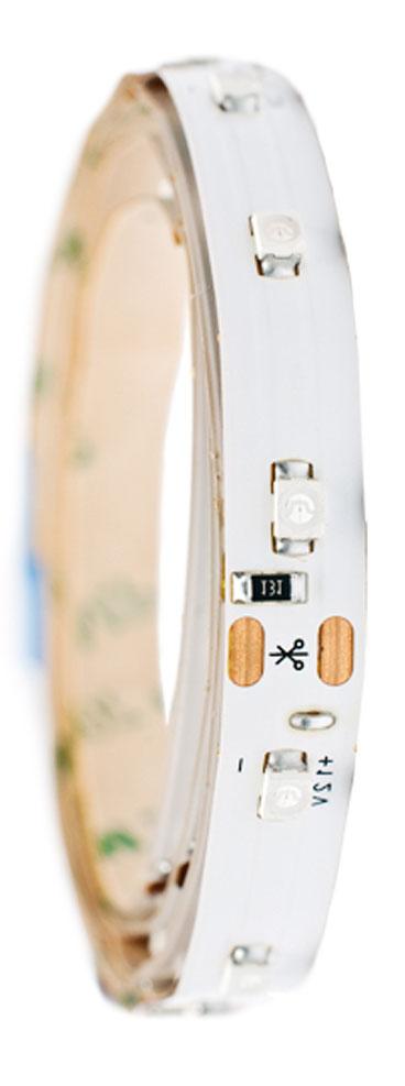 Лента светодиодная Главдор, цвет: красный, 900 ммGL-131Гибкая светодиодная лента для декоративной подсветки фиксируется с помощью двухстороннего скотча. Питание: 12В. Длина: 900 мм. Красный источник света.