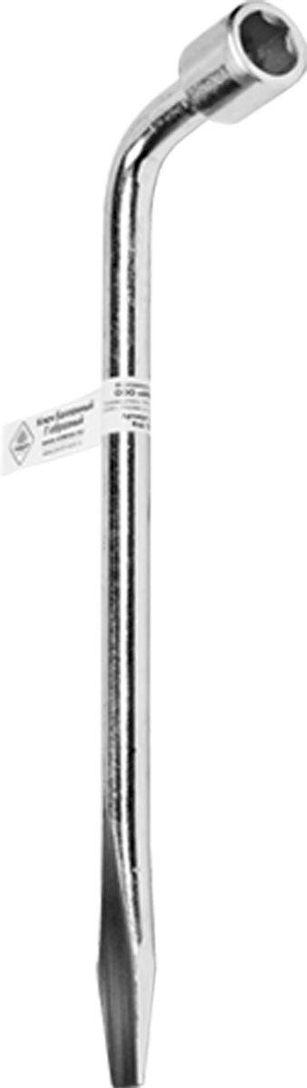 Ключ баллонный Главдор, Г-образный, 17 х 330 ммGL-313Ключ балонный Г-образный выполнен из инструментальной стали, обеспечивает долгосрочное использование изделия. Ключ оснащен усиленной конструкцией. Торцевая головка: 17 мм. Длина ключа: 330 мм.
