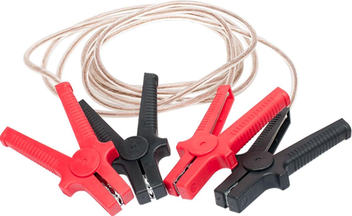 Провода пусковые Главдор, силиконовая обмотка, 500А, 3 м. GL-57GL-57Пусковые провода Главдор, выполненные из меди в силиконовой обмотке, предназначены для соединения одноименных клемм аккумуляторов автомобилей для того, чтобы осуществить дополнительную подпитку стартера в автомобиле с разряженной аккумуляторной батареей или загустевшим от мороза маслом. Применяются для запуска двигателей легковых и грузовых автомобилей при низкой температуре воздуха в холодное время года, а также после длительного хранения автомобиля, вызвавшего саморазряд аккумуляторной батареи. Особенности пусковых проводов: - морозостойкий эластичный кабель в резиновой изоляции, - многожильный медный проводник, - полностью изолированные зажимы, - надежные пропаянные соединения провода с зажимами. Температура эксплуатации -50 - +80°С. Длина: 3 м. Напряжение: 500А.