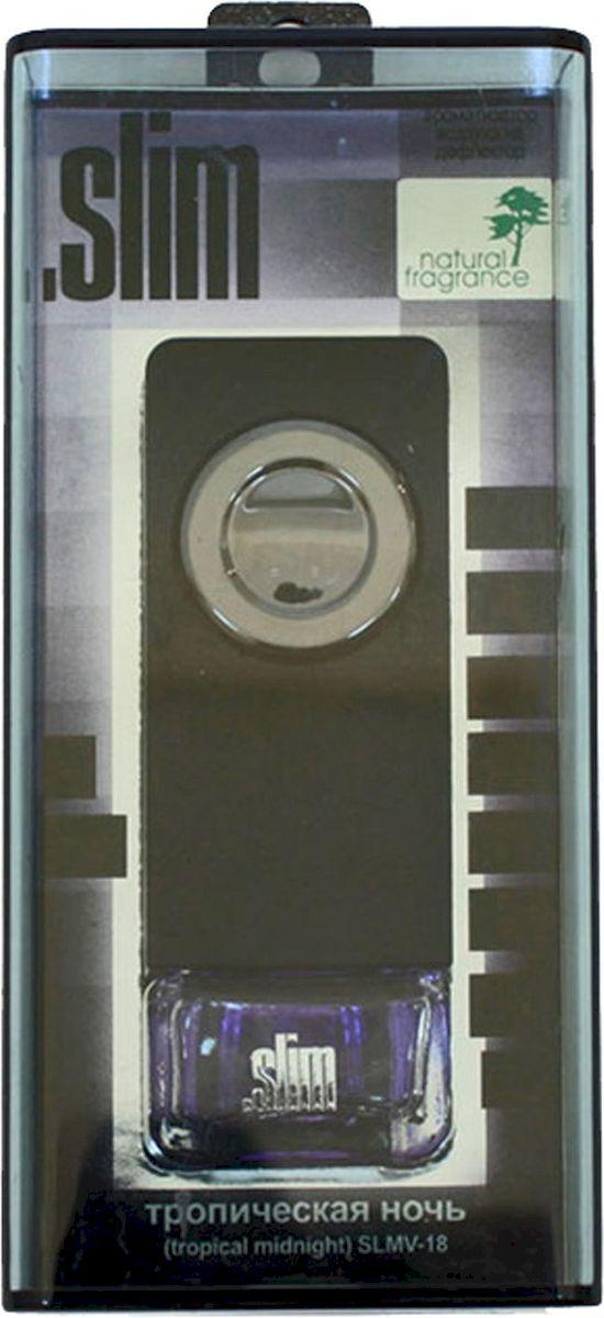 Ароматизатор автомобильный FKVJP Slim. Тропическая ночь, на дефлектор, 8 млSLMV 18