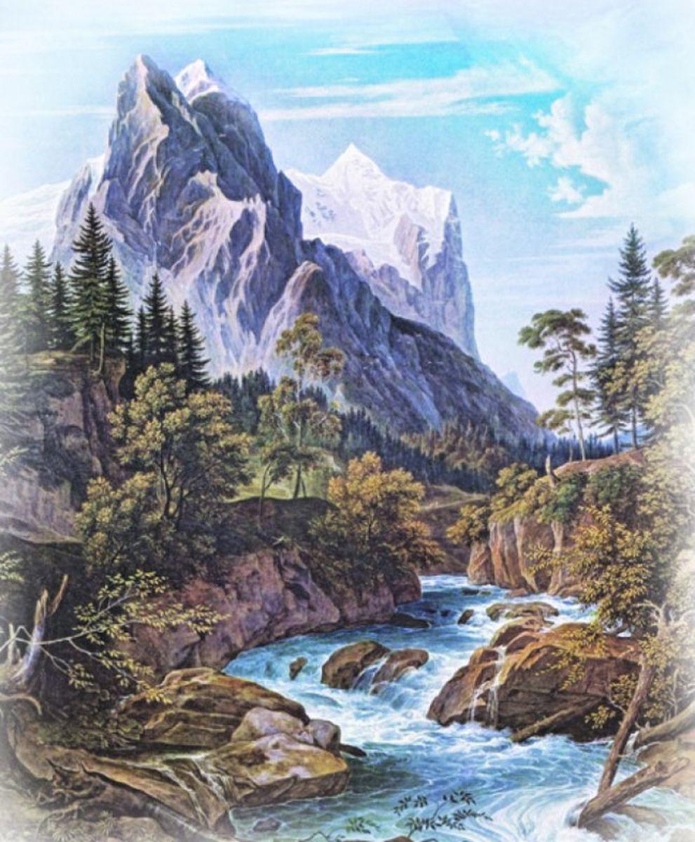 Панно декоративное Твоя Планета Романтика гор, 210 х 254 см4607161054277