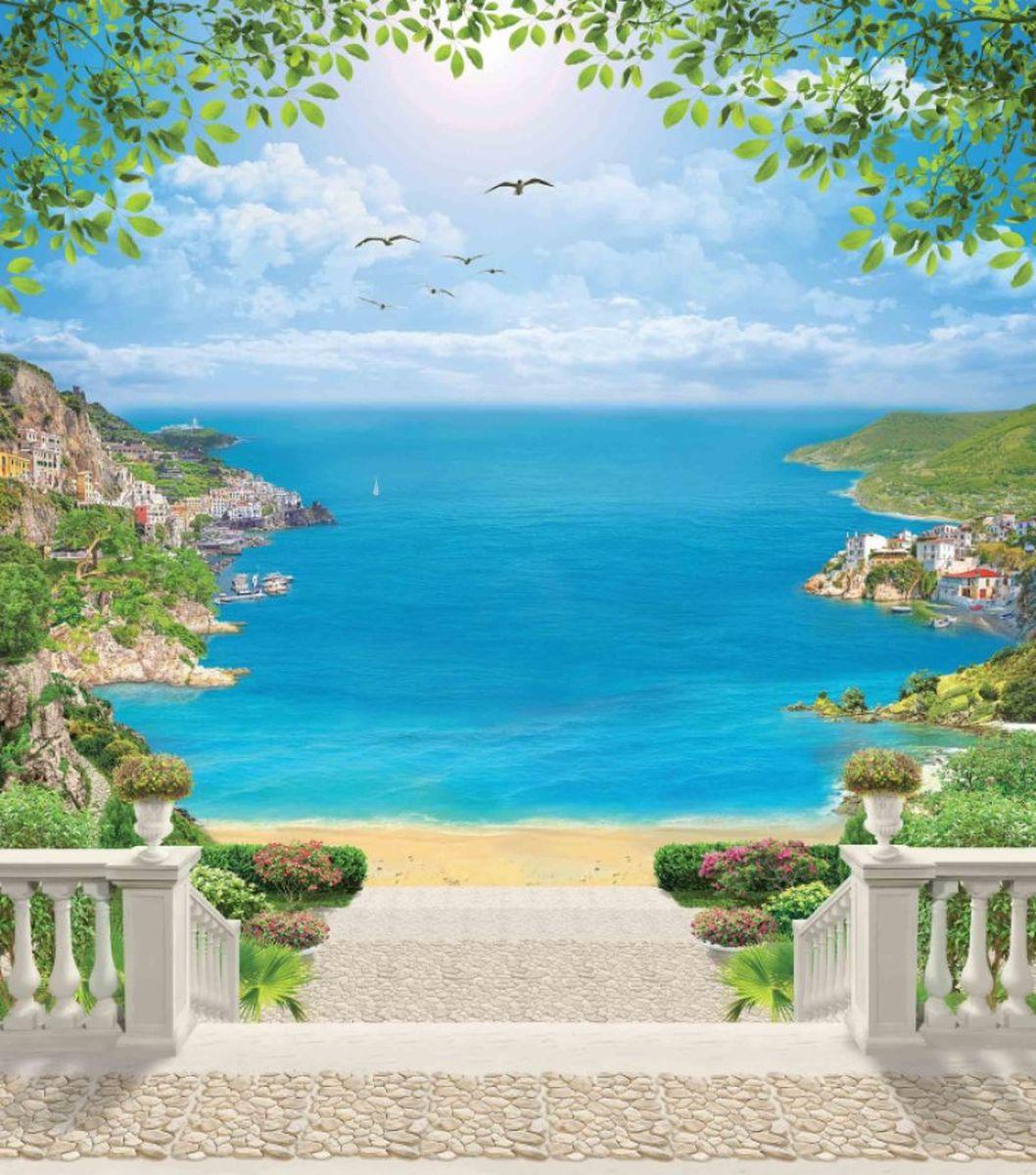 Панно декоративное Твоя Планета Лазурный берег, 210 х 238 см4607161053058