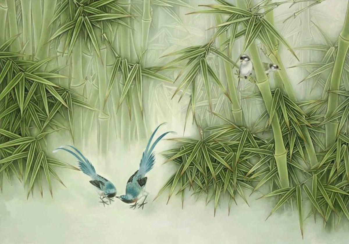 Панно декоративное Твоя Планета Бамбук, 210 х 147 см4607161054505