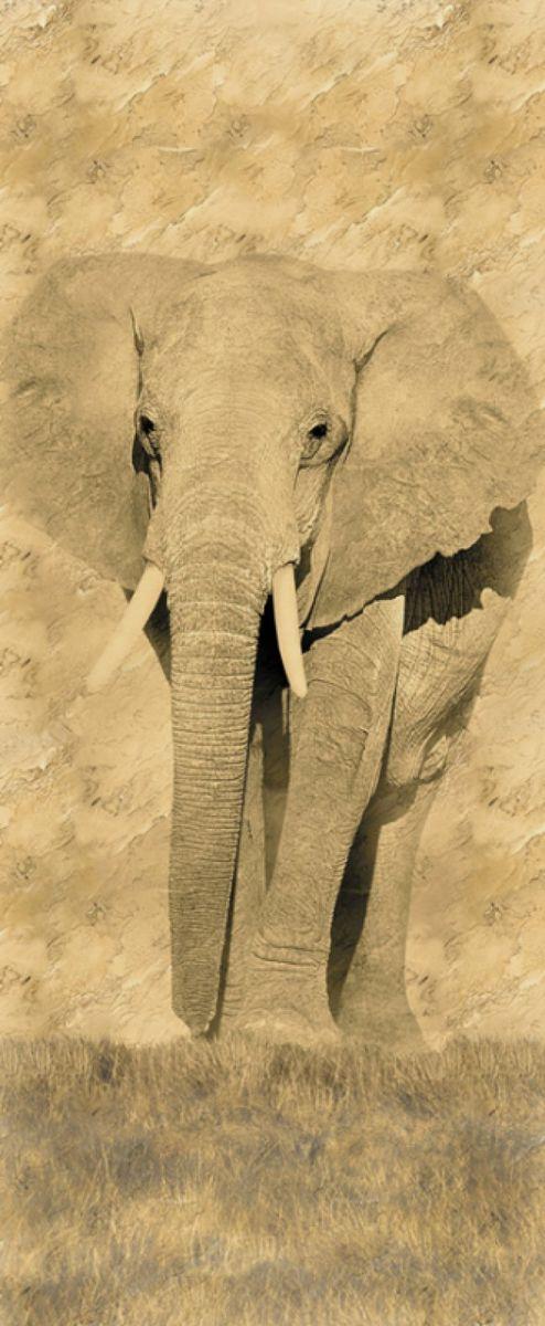 Панно декоративное Твоя Планета Слон, 105 х 254 см4607161054147