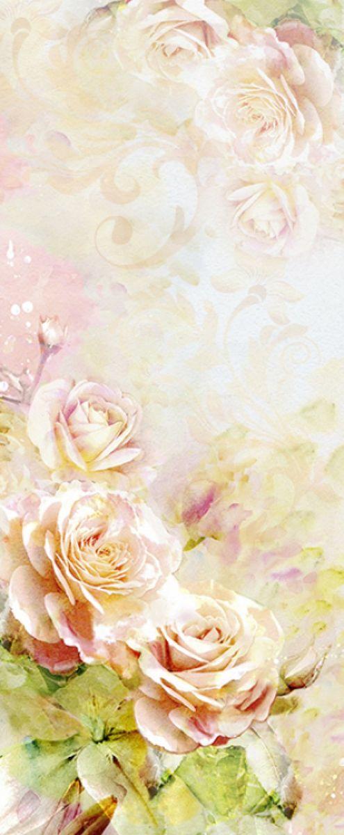 Панно декоративное Твоя Планета Розовая акварель, 105 х 254 см4607161054703