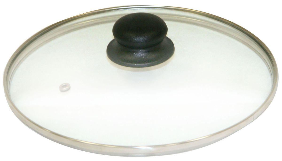 Крышка Axentia. Диаметр 16 см222221Крышка Axentia изготовлена из жаропрочного стекла с ободом из нержавеющей стали и пластиковой ручкой. Она оснащена отверстием для выпуска пара. Окантовка предохраняет от механических повреждений. Изделие удобно в использовании и позволяет контролировать процесс приготовления пищи.