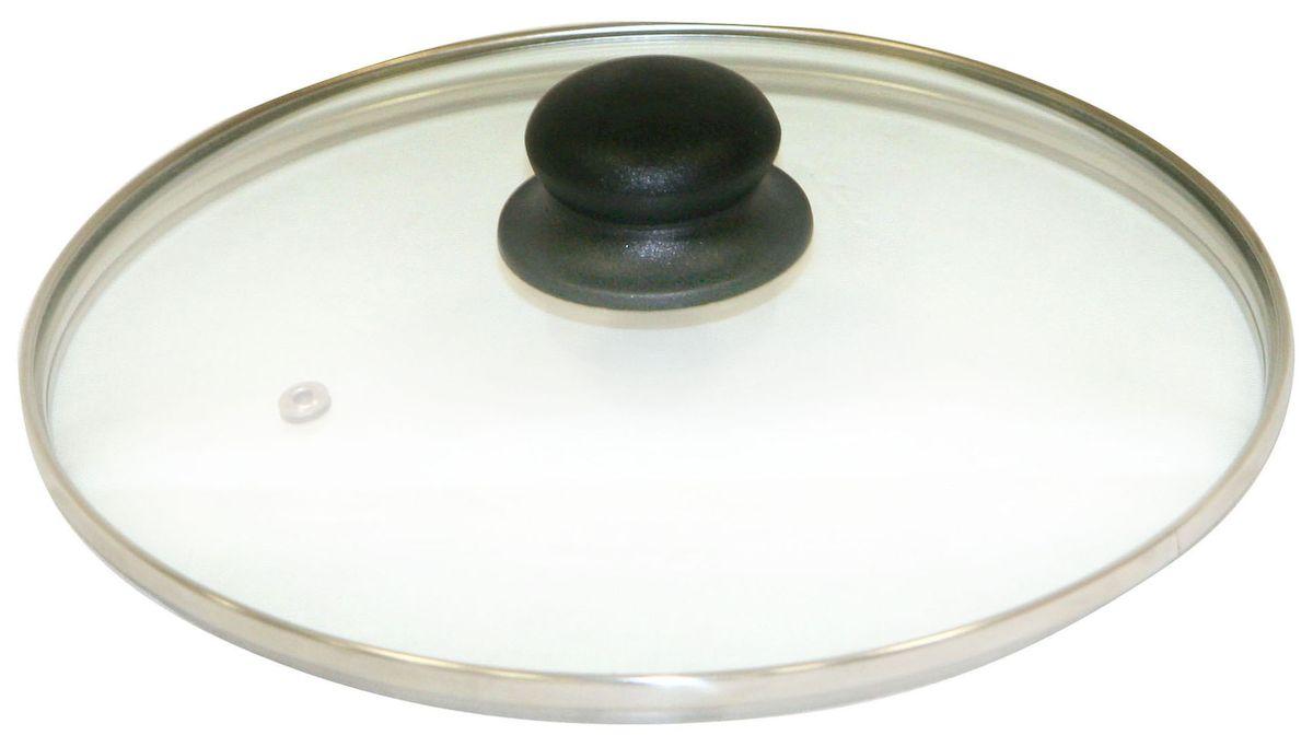 Крышка Axentia. Диаметр 20 см222222Крышка Axentia изготовлена из жаропрочного стекла с ободом из нержавеющей стали и пластиковой ручкой. Она оснащена отверстием для выпуска пара. Окантовка предохраняет от механических повреждений. Изделие удобно в использовании и позволяет контролировать процесс приготовления пищи.