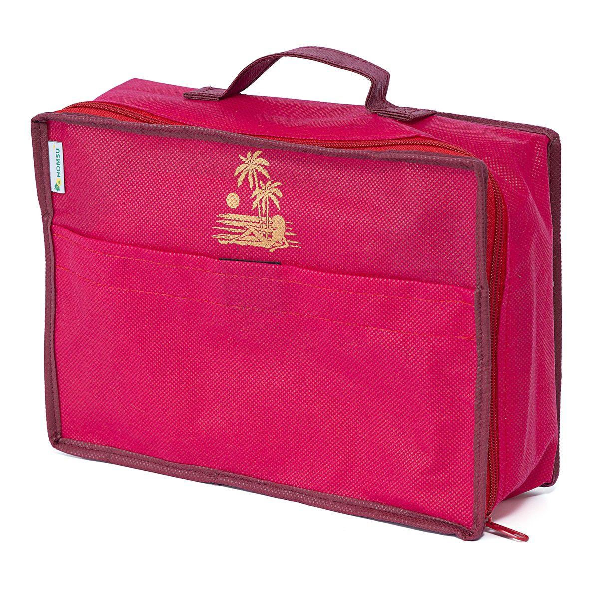 Сумка для багажа Homsu Lady in Red, 28 х 20 х 9 смHOM-658Вместе с оригинальным современным дизайном такая сумка для багажа принесёт также очень существенную практическую пользу в любом путешествии. Благодаря ей,вы сможете распределить все вещи, которые возьмёте с собой таким образом, что всегда иметь быстрый доступ к ним, и при этом надёжно защитить от пыли, грязи, влажности или механических повреждений. Размер изделия:28x20x9см.