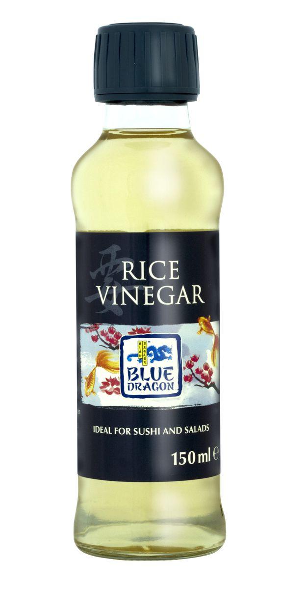 Blue Dragon Рисовый уксус, 150 мл030047Традиционный японский уксус, который используют в азиатской кулинарии. Например, при приготовлении риса для суши - уксус придает ему пикантный, остро-сладкий привкус.