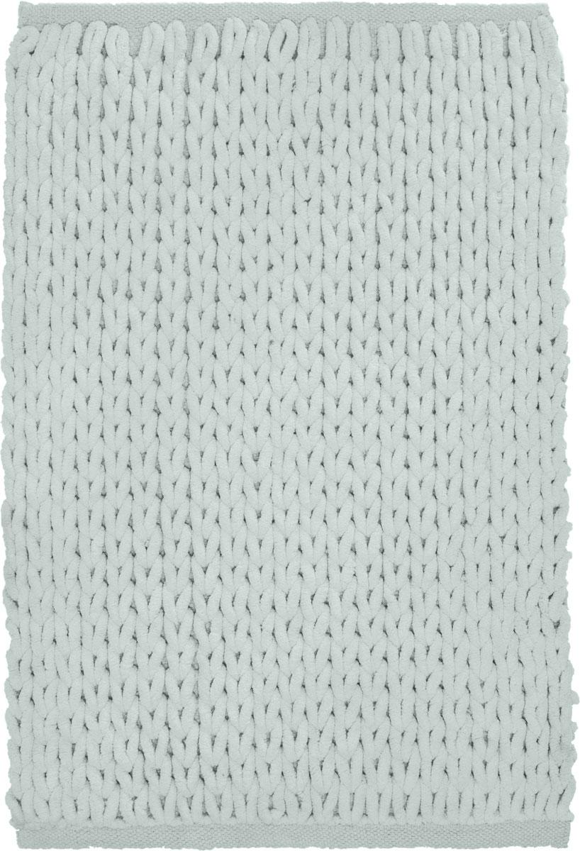 Коврик для ванной Modalin Torino, цвет: ментол, 50 х 80 см5036/CHAR003Коврик для ванной Modalin Torino выполнен из высококачественного хлопка. Изделие долго прослужит в вашем доме, добавляя тепло и уют, а также внесет неповторимый колорит в интерьер ванной комнаты.